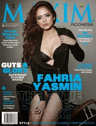 Edisi Februari 2014 Cover Fahria Yasmin (DJ Yasmin) | www.insight-zone.com