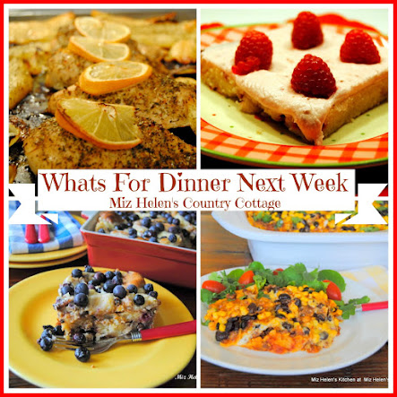 Whats For Dinner Next Week * Week Of 3-26-17