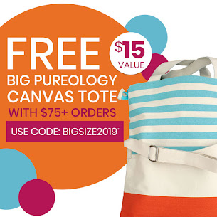 Free Big Pureology Canvas Tote