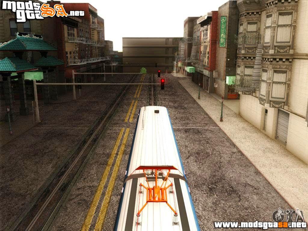 SA - Train Cam Fix (Correção da Câmera do Trem)