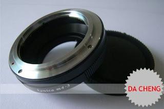 Konica AR to Micro m4/3 Panasonic Lumix G1 GH1 Adapter + Rear Cap
