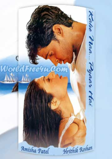 Poster Of Kaho Naa Pyaar Hai (2000) All Full Music Video Songs Free Download Watch Online At worldfree4u.com