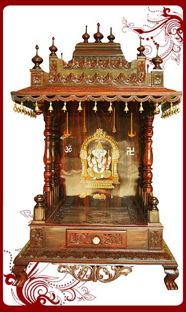Rosewood Puja Mandap