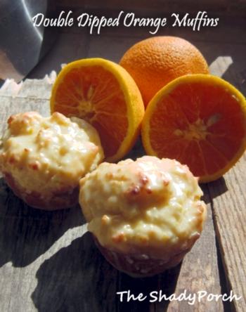 Orange Muffins #dessert #recipe #breakfast #muffin #snack #morning
