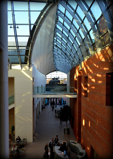 pem, Peabody Essex Museum, Salem, Massachusetts, atrium, shadows