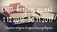 100 kirjaa vuodessa (30.11.2017 asti)