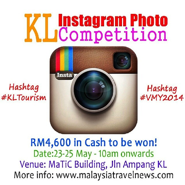 KL Instagram Photo Competition by www.malaysiatravelnews.com - Apparently it was just a scam =(