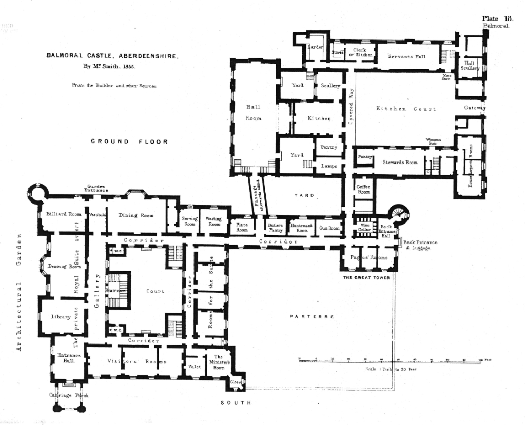 Houses of state june 2013 for Scottish highland castle house plans