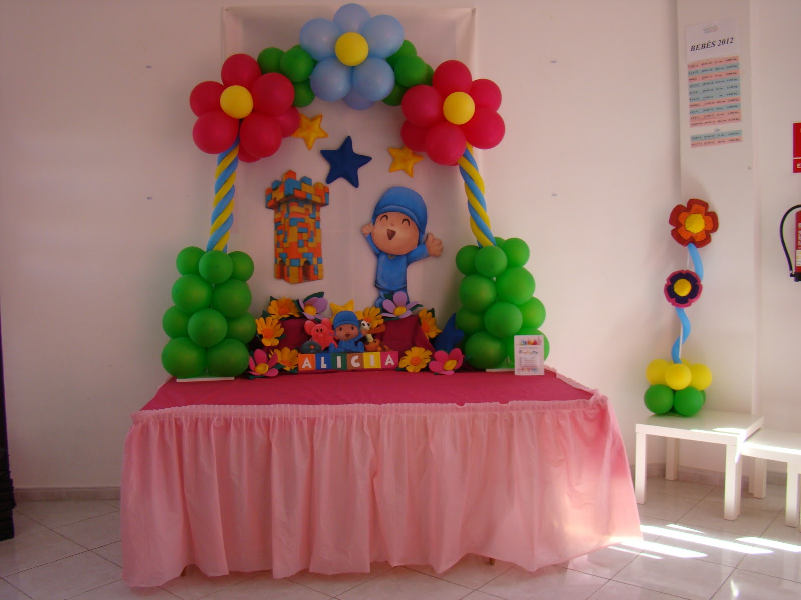 Fiestas infantiles decoradas con pocoyo parte 1 for Cosas de decoracion