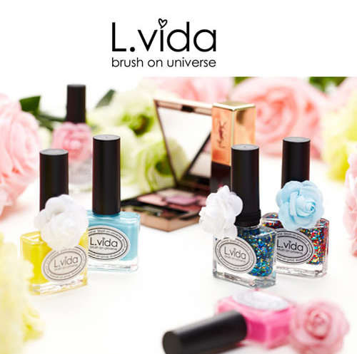 L.Vida Self Nail Art Care Polish