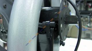 Montaje del sensor de pedaleo  PAS SANY0203