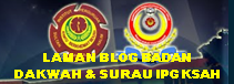 LAMAN BLOG BADAN DAKWAH &amp; SURAU IPG KSAH