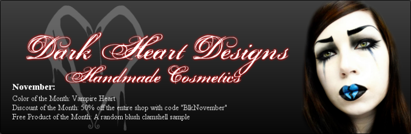 Dark Heart  Designs' Cosmetic Blog