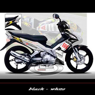 Modifikasi Jupiter Mx Monster