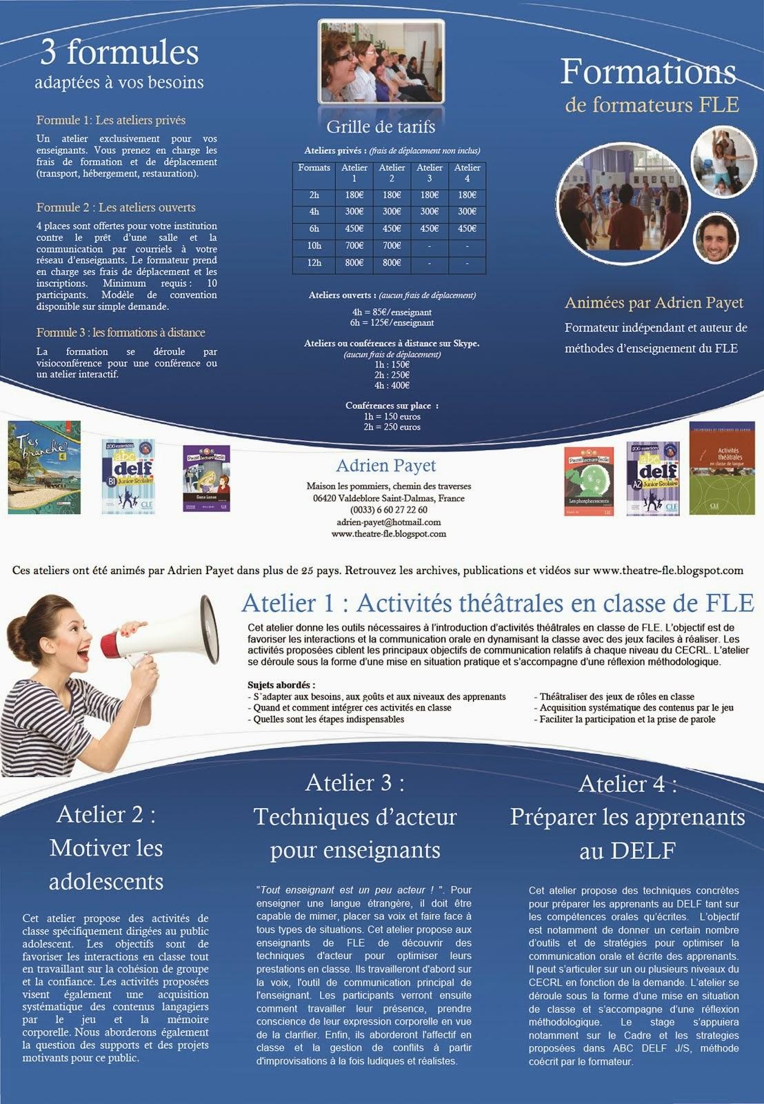 OFFRE DE FORMATION 2014- 2015