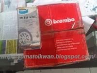 Disk Pad Bendix dan Rotor Brembo