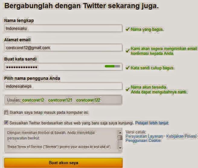 bagaimana membuat twitter