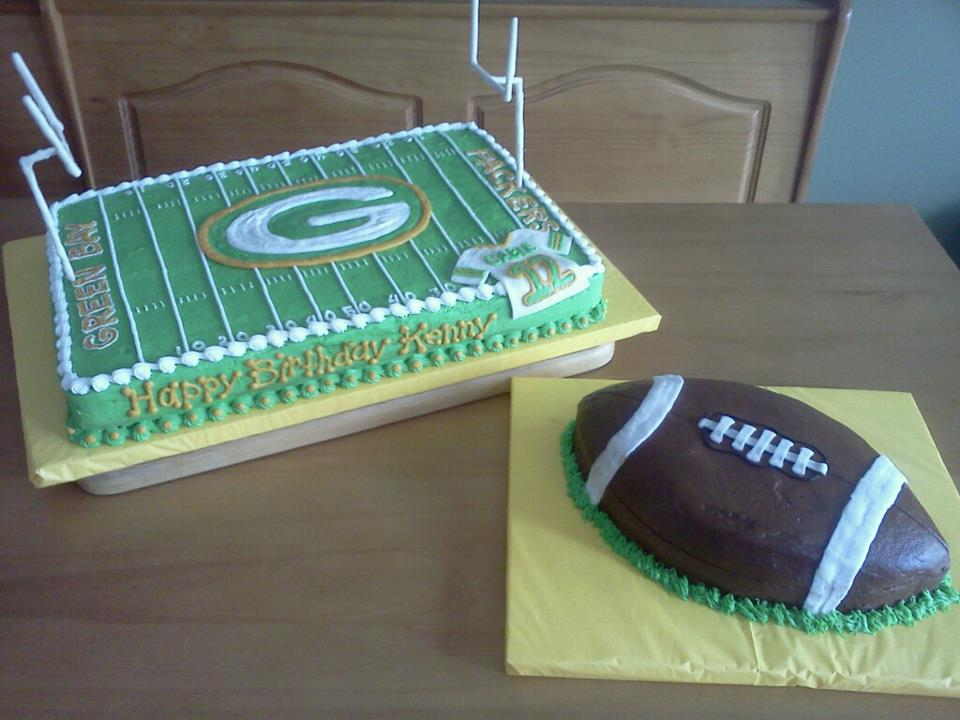 Julie Daly Cakes Green Bay Packers