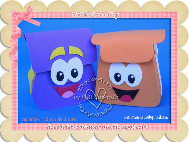 Dora Aventureira - mais mochilas!!!