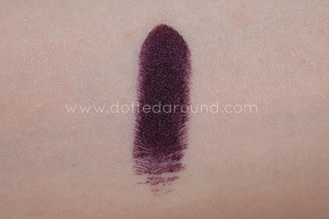 Mulac rossetto Scrooge swatch