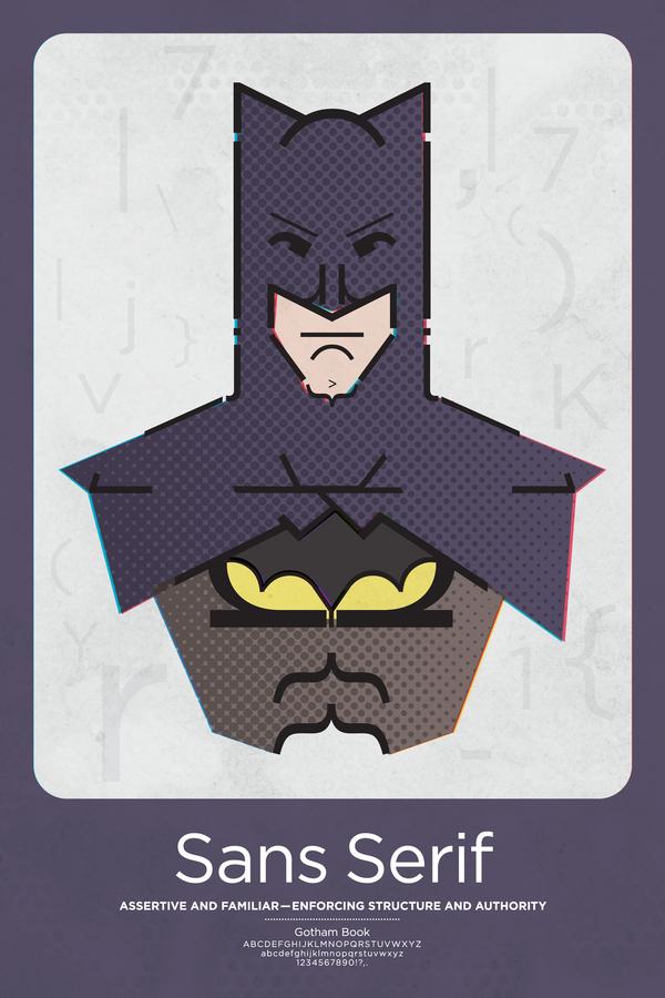 Batman - Sans Serif