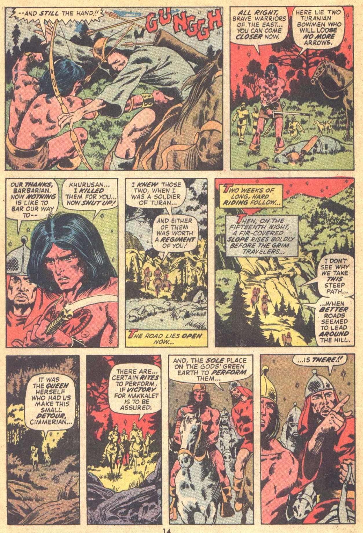 Conan the Barbarian (1970) Issue #21 #33 - English 11