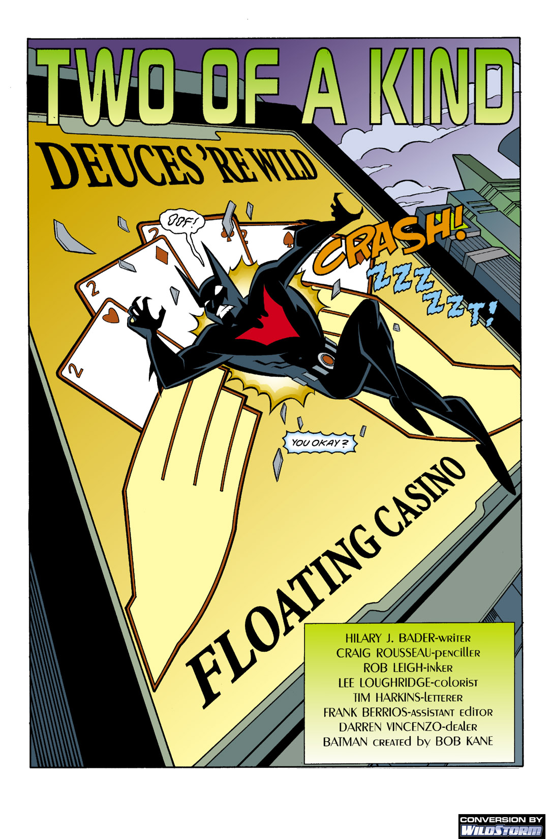 Batman Beyond [II] Issue #4 #4 - English 2