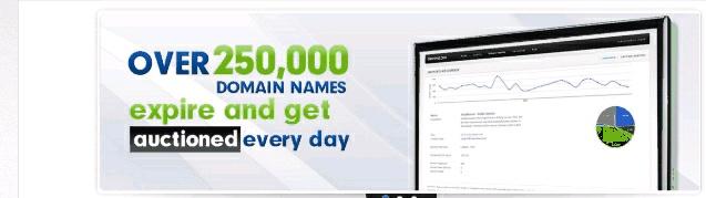 Abandoned domain names