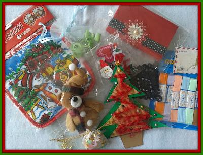 regalos recibidos por el intercambio de navidad 2013