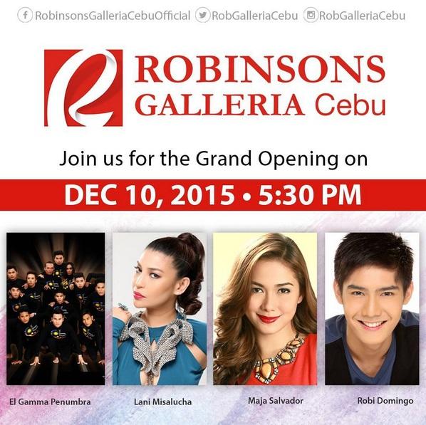 CebuOnlineTV-Robinsons-Galleria-Cebu-Opening