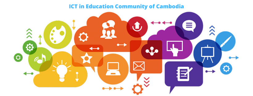 Let's Join ICT in Education Community in Cambodia