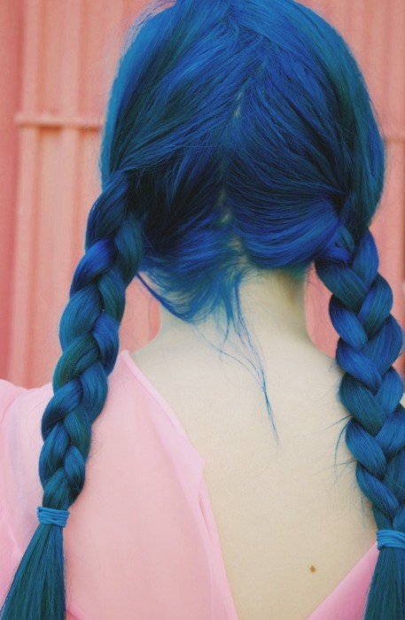 Mujeres Con Pelo Azul Maisonier