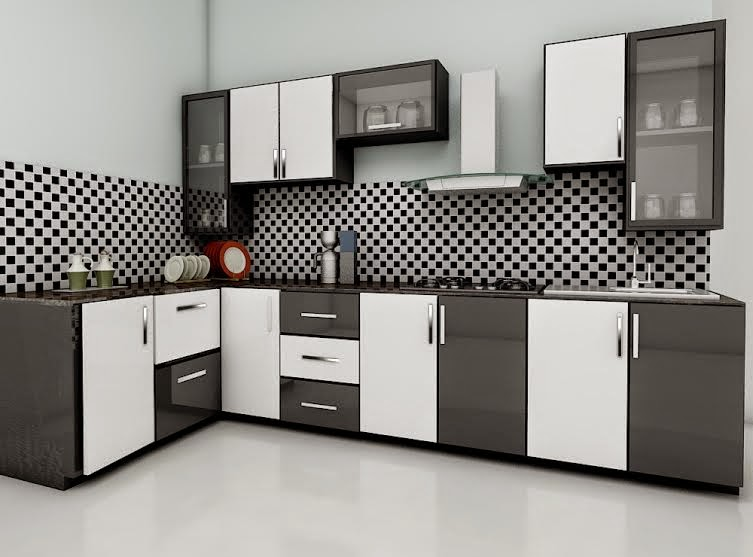 Kerala style carpenter works and designs colorful modular for New kitchen designs in kerala