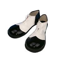 zapatones, payaso