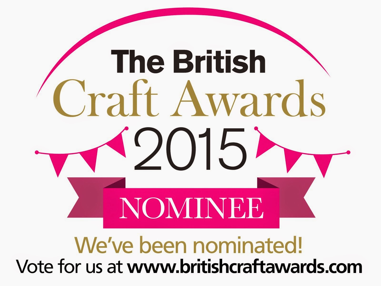 I've been nominated in the Most Inspirational Craft Blog Category!
