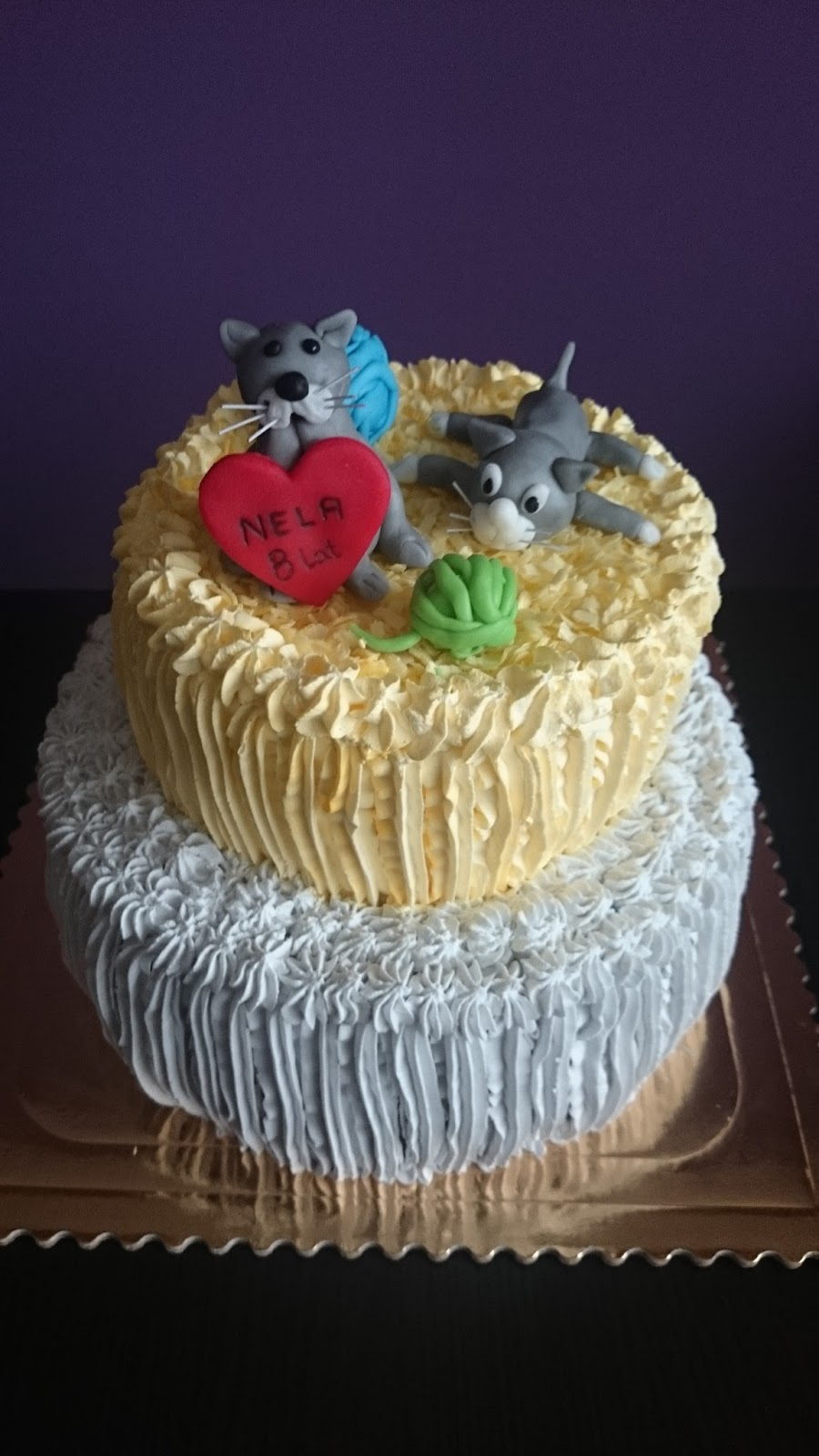 Coś Słodkiego Dla Małego I Dużego Tort Urodzinowy Dla Małej