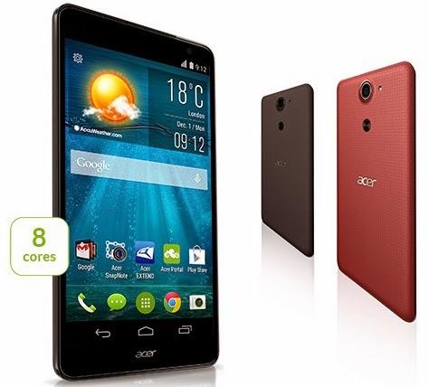 Acer Liquid X1 LTE Android 5.7 inch Harga Rp 2 Jutaan