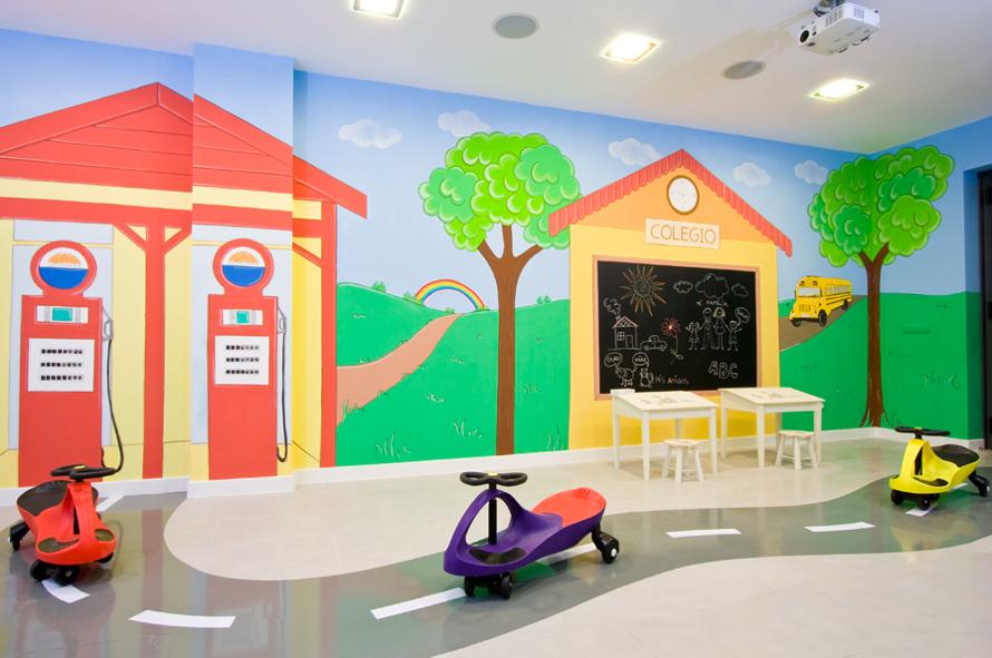 Decopared murales infantiles para sala de juegos - Paredes pintadas infantiles ...