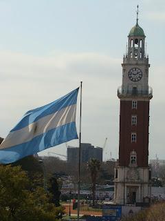 Relógio Inglês em Buenos Aires