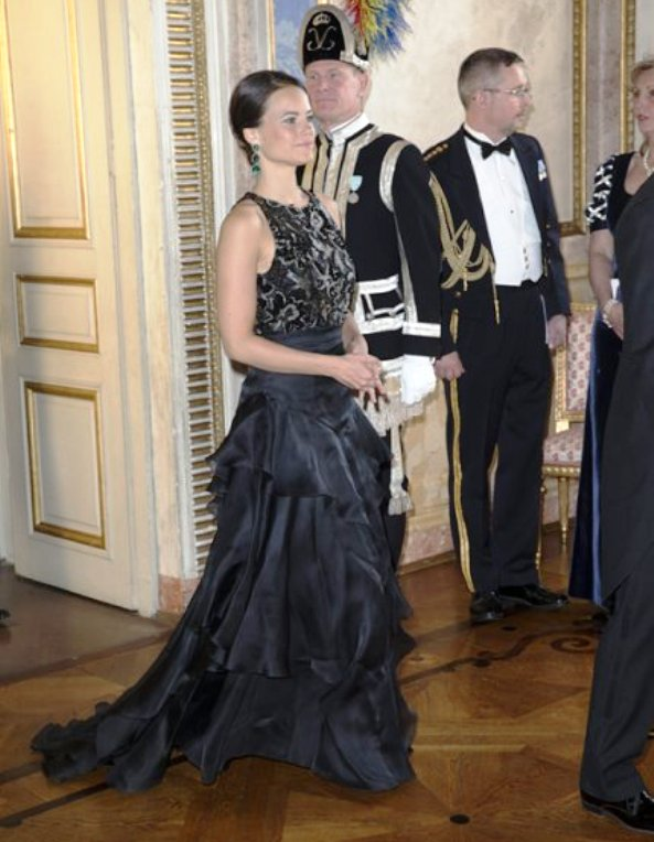 Gala Dinner For President Mukherjee At The Stockholm Palace