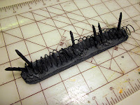 Warhammer 40k Barricade with Spikes