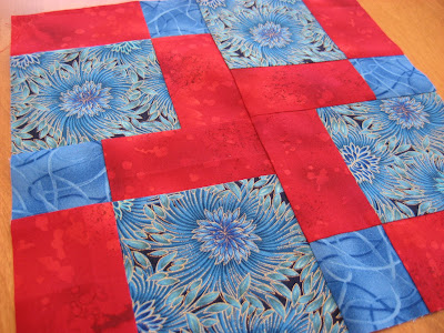 Layer Cake Quilt Along - Block Eight