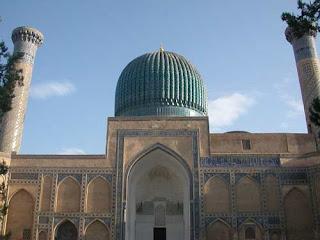 gur e amir mausoleum sasmarkand tamerlane mausoleum