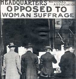 Opposition to Suffrage
