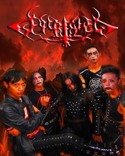 Ririwa Band Harmonic Black Metal Bogor