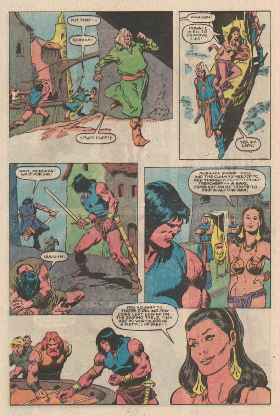 Conan the Barbarian (1970) Issue #167 #179 - English 4