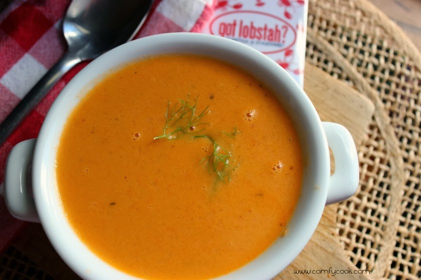 Comfy Cuisine- Home Recipes from Family & Friends: Vineyard Lobster Bisque