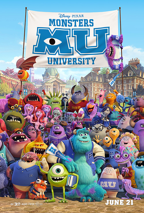 Download Movie Monsters University (2013)