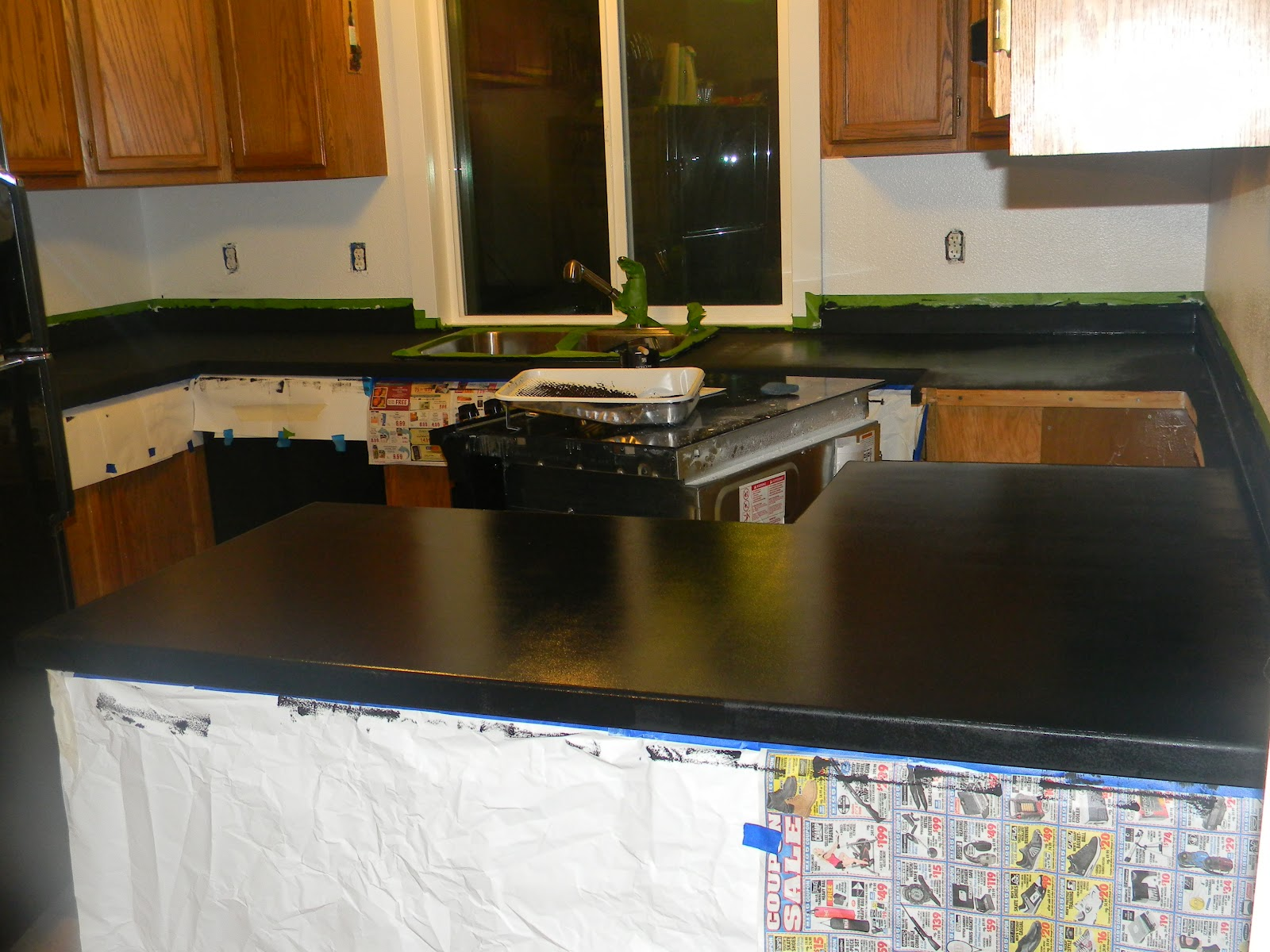 3sonshavei: See my new Kitchen! I love my new Giani Countertops!
