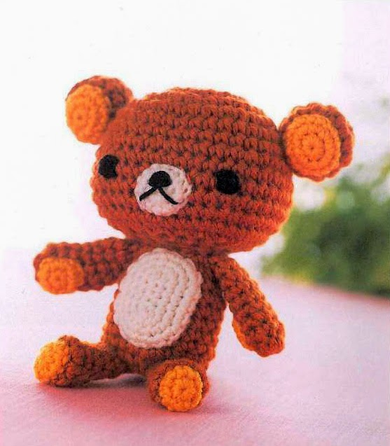 Free Japanese Craft Patterns: Rilakkuma Relax Bear ...